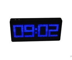 Alarm Clock 8800mah Power Bank Screen Display Portable Charger Multi Function