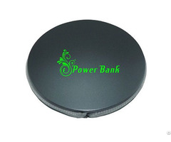 1800mah Power Bank Mfi Built In Cable Portable Round Shape Pocket Charger