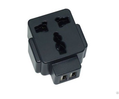 Universal Charger Dual Usb Travel Adapter Multi Plug Promotion Parts