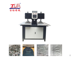 Clothes Label Making Machine Leather Logo Production Line