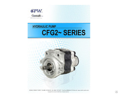 Cosmic Forklift Parts On Sale 340 Cpw Hydraulic Pump Cfg22 Series Catalogue Size
