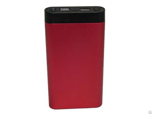 16000mah Power Bank Led Torch Flashlight Fast Charging Dual Usb Charger Portable
