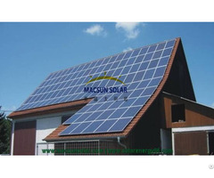For Top Roof 1kw Solar Home System Mono Panel With High Quality