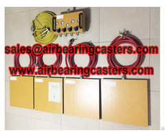 Air Caster Load Moving Equipment Physical Characteristics