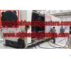Air Caster Universal Moving Equipment