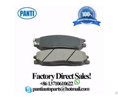 Front Disc Brake 58101 26a00 5810126a00 Pad Kit Fits Hyundaikia