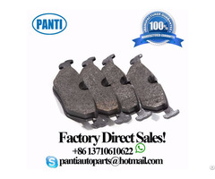 Auto Brake Pads D396 34216761281 For 528i
