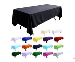 Polyester Tablecloth Wholesale Price Wedding Table Linens