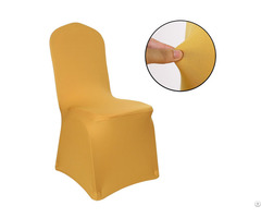 Polyester Spandex Wedding Chair Cover