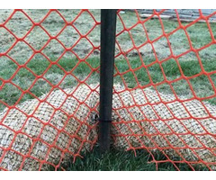 Diamond Opening Safety Barrier Fence