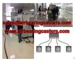 Air Bearings For Transporting Heavy Cargo Introduced In English