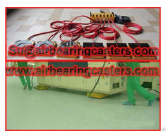Air Caster Rigging System With Two Kinds