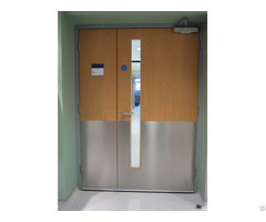 Ul Listed Wooden Fire Rated Door