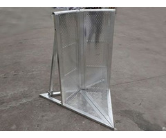 Stage Barrier Aluminum Crowd