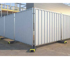 Temporary Hoardings Steel