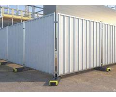 Temporary Hoardings Steel