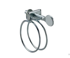 Wire Hose Clamps With Flat Handle