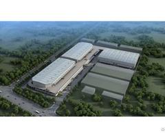 Steel Structure Factory Building Logistics Park