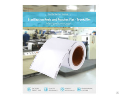Sterilization Reel Tyvek Pouches And Roll