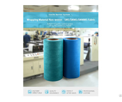 Wrapping Material Non Woven Sms Smms Smmms Fabric