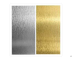 Hairline Gold Stainless Steel Sheet From China