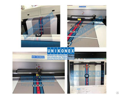 180cm 90cm Printed Fabric Laser Cutting