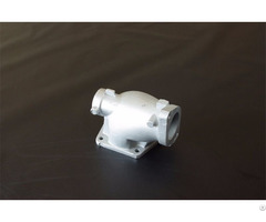 Aluminium A356 Alsi7mg Lm25 A S7g T6 Pump Valve Body Gravity Casting Airtightness Test