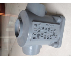 Aluminum Alloy Alsi10mg T6 Heat Treatment Gravity Casting Components Pump Body Oem Manufacturer
