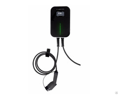 16a 32a Lcd Ev Charging Station With Type1 Plug