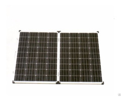 160w Outdoor Power Supply Monocrystalline Folding Solar Panel
