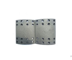 Drilled And Undrilled Truck Spare Parts Brake Lining