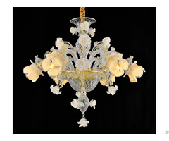 Murano Style Handmade Glass Chandelier Any Size And Color Can Be Produced