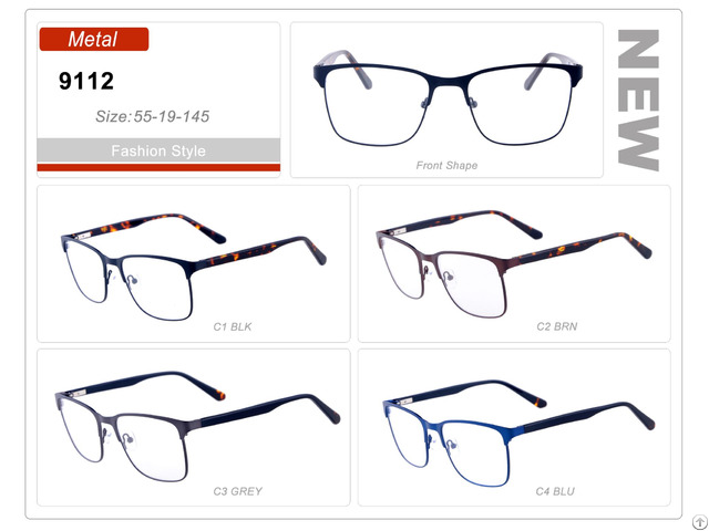 Popular Product Wholesale Stock Small Order Metal Optical Frame