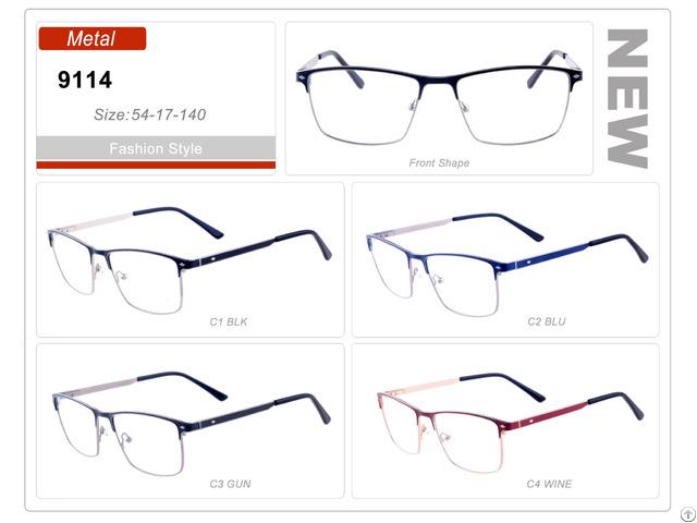 3e9d7119ca New Design Spectacle Wholesale Stock Metal Eyewear Eyeglass Optical Frame  Custom Made