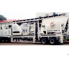 Maintenance Process Of Portable Crusher Plant