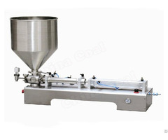 Semi Automatic Horizontal One Head Ointment Piston Filling Machine Li