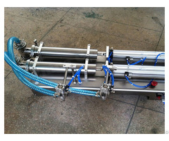 Double Heads Piston Liquid Filling Machine