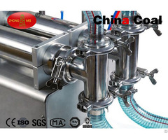 Pneumatic Type Filling Machine For High Viscosity Liquid And Paste
