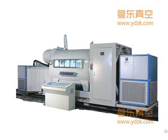 Metallizing Coating Machine H2300 18 Double Door Free Span Metallizer