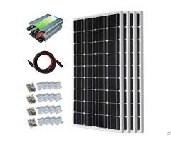 400w Off Grid Monocrystalline Solar Panel Starter Kit