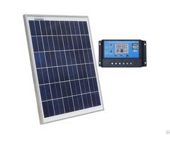 20w 12v Polycrystalline Solar Panel Charging Kit