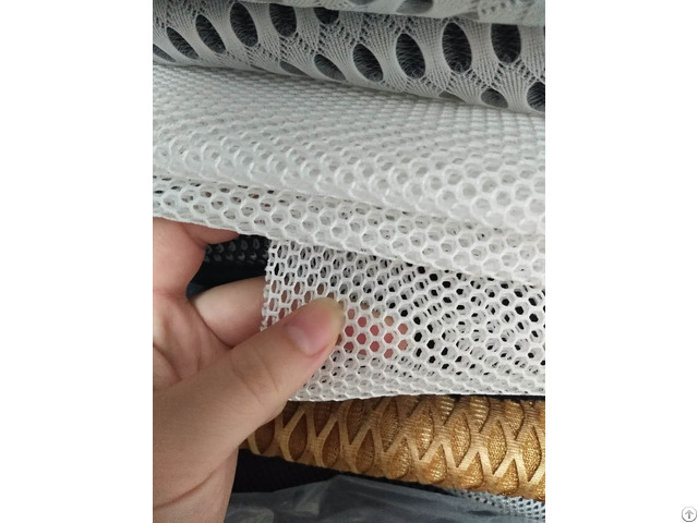 Polyester Breathable Air Mesh Fabric For Baby Strollers And Safety Seat