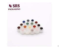 Plastic Holder With Beautiful Colorful Stone Balls