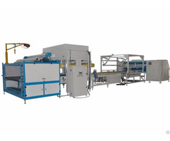 Fully Automatic Mattress Compress Fold And Rolling Machine