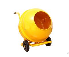 Mobile Electrical Wheelbarrow Style Mini Cement Mixer