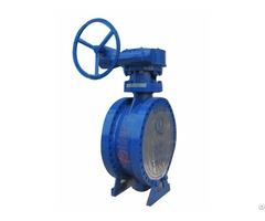 Ansi High Performance Butterfly Valve Used In Piping Network System