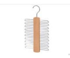 16cm Natural Wooden Tie Scarf Belt Hangers