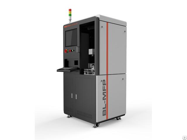Top Quality Cylinder Liner Fiber Laser Engraver Marking Machine For Automotive Engine