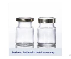 Bird Nest Bottle With Metal Screw Cap