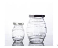 Food Grade Glass Honey Jar